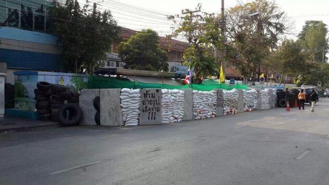 Bunker und Befestigungen in Bangkok