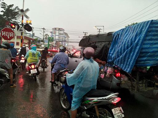 Regen in Hua-Hin