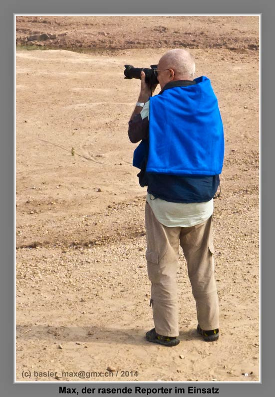 Max als Fotograf