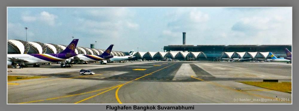Bangkok Suvarnabhumi: Start nach Helsinki