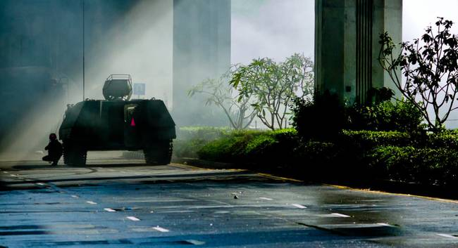 Seit Donnerstag, 22. Mai 2014, ist es offiziell: Putsch in Thailand! Das Militär hat die Macht übernommen. Foto: FlickrCC/null0