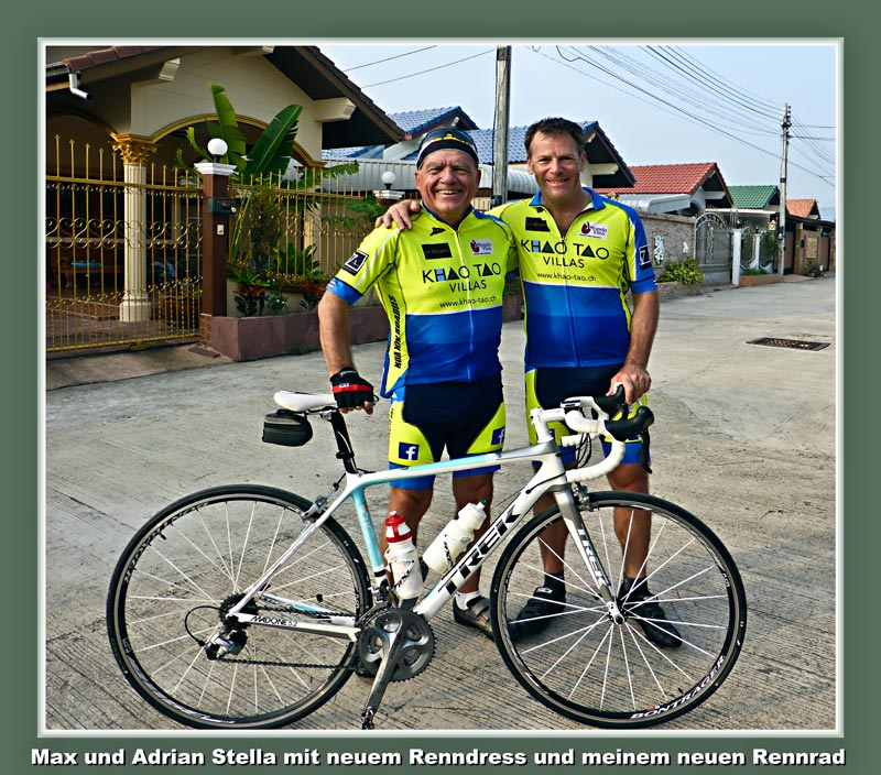 Hua-Hin Roadies, Velo, bicycle, Trek Madone