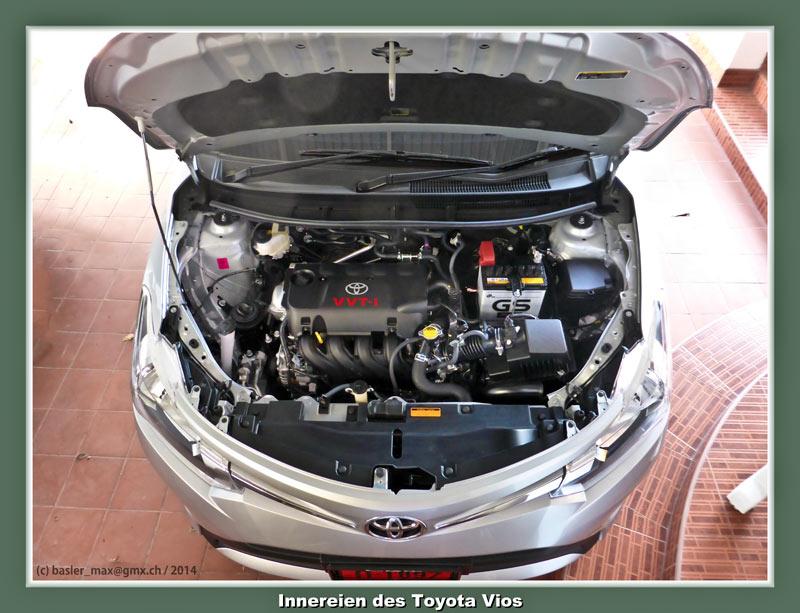 Toyota Vios Innereien