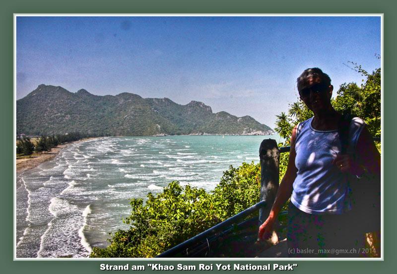 Der erste Aufstieg vom Auto-Parplatz zum Ban Pu Beach