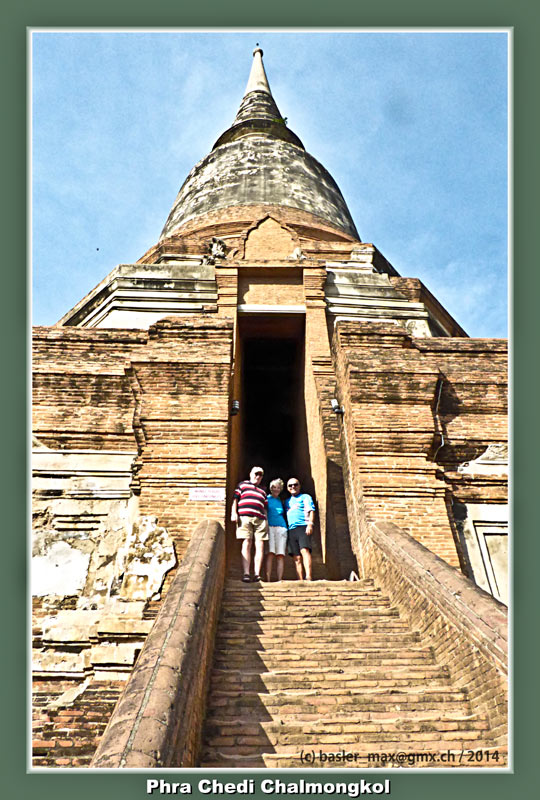 Ayutthay: Phra Chedi Chalmongkol