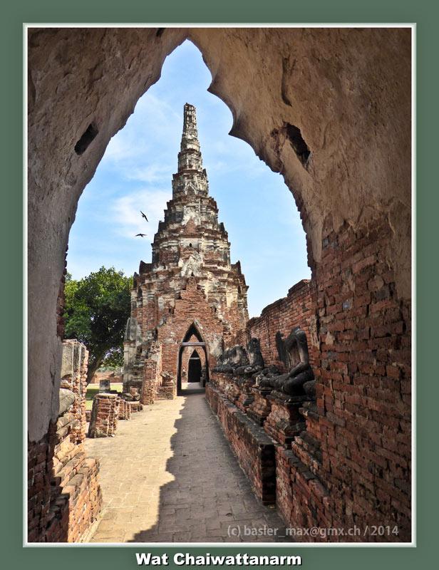 Ayutthaya: Wat Chaiwattanarm