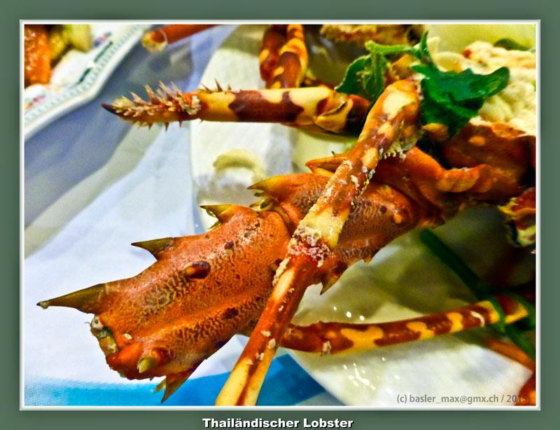 Hua-Hin Leben, Essen, Schlafen und Soi94: Lobster