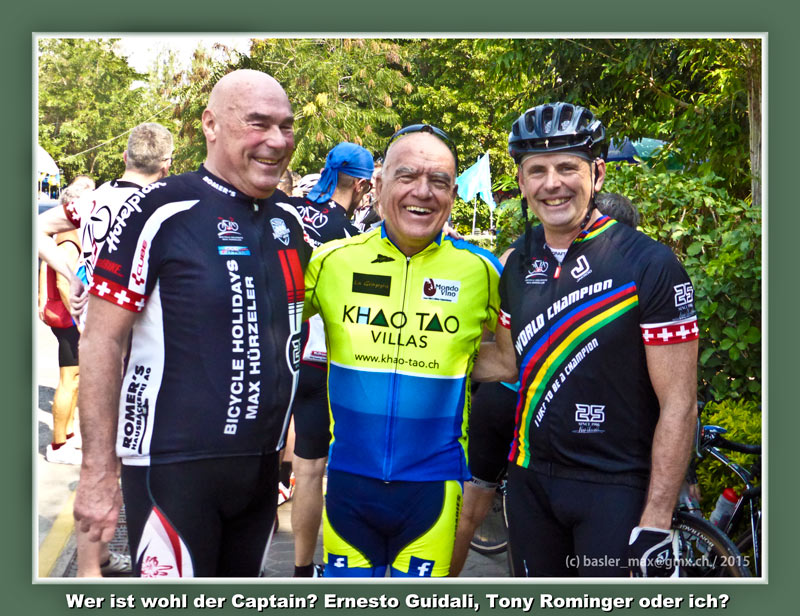 Ernesto Guidali, Max Lehmann, Tony Rominger: Max Hürzeler Thai Rundfahrt