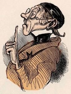 Lehrer Lämpel aus Max und Moritz (Wilhelm Busch)