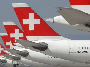 Switzerland, Airplane traffic