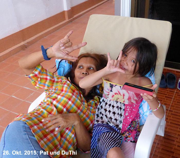 Hua-Hin Soi94 Pat und DuThi
