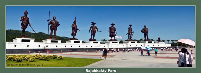 King, Thailand, Rajabhakty Parc, Hua-Hin