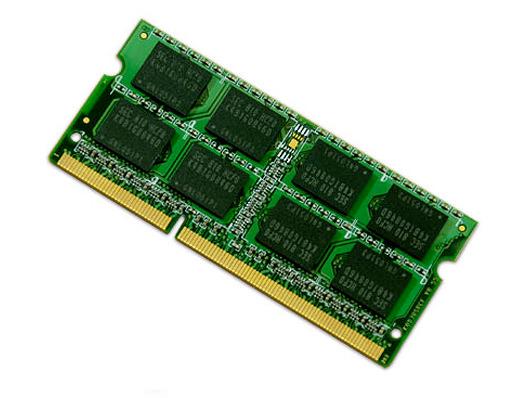 Arbeitsspeicher: 4 GB DDR3-SO-DIMM