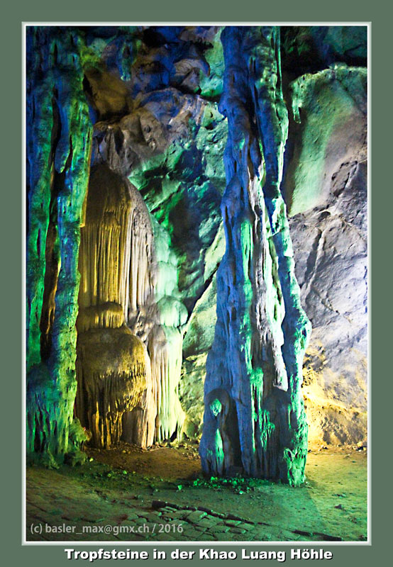 Phatchaburi Höhle Tempel Khao Luang