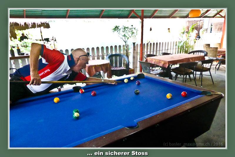 Hua-Hin Pool Billard Sasha Bar Max
