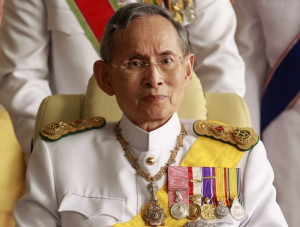 Thailand Koenig Bhumibol