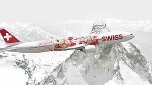 Boeing.777 der Swiss