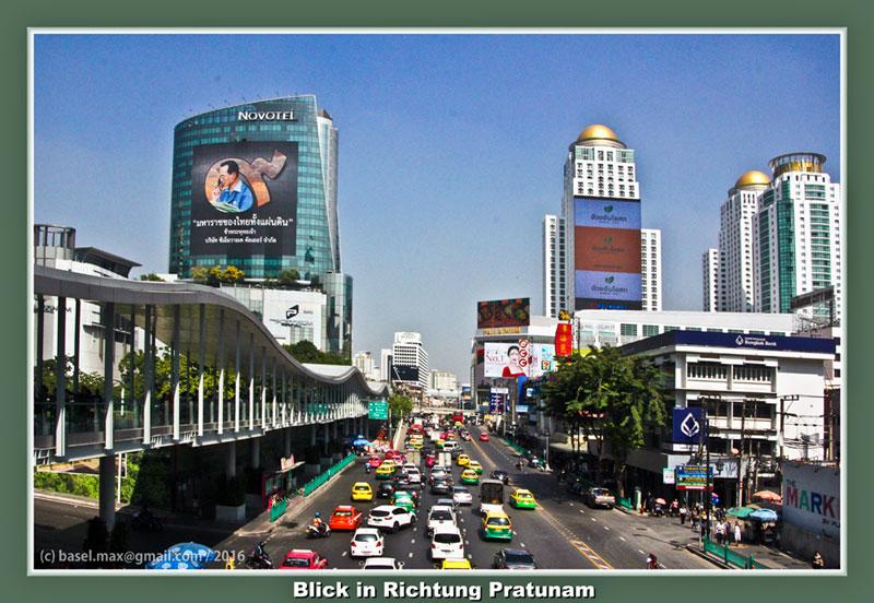 Bangkok Pratunam Baiyoke Klong Fahrt