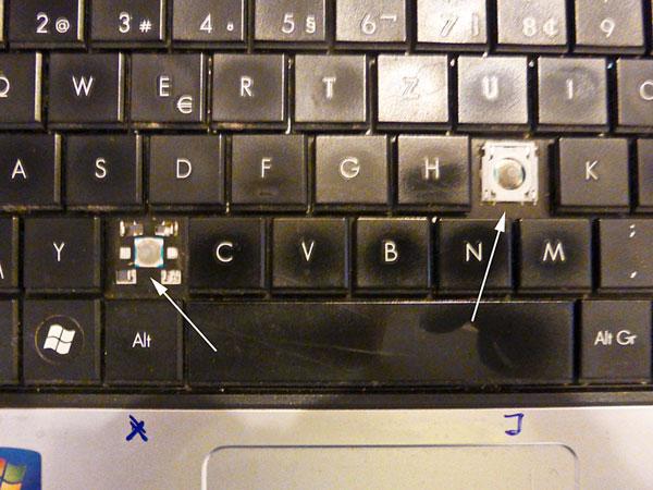 1. Dez. 2016: defekte Tastatur