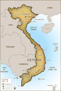 Radfernfahrt von Saigon nach Hanoi