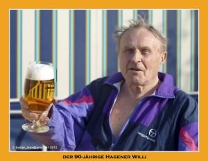 Der 90-jaehrige Hagener Willi