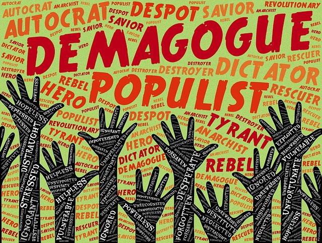 Populisten, Demagogie, Rebellion, Querdenker sind die Merkmale der SVP und auch AfD