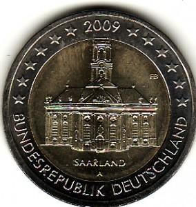 2 Euro Münze Deutschlands