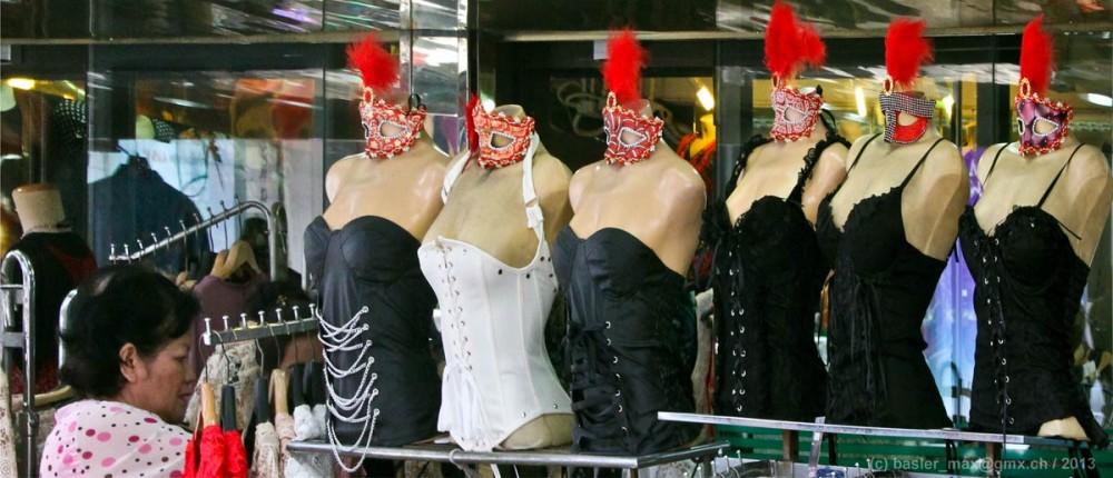 Pratunam Dame-Kleider Shopping